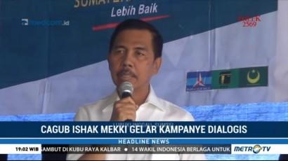 Cagub Sumsel Ishak Mekki Gelar Kampanye Dialogis