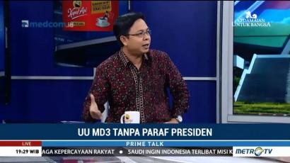 Dua Opsi yang Dapat Diambil Jokowi Terhadap UU MD3