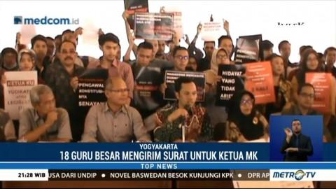 Akademisi di Yogyakarta Desak Arief Hidayat Mundur sebagai Ketua