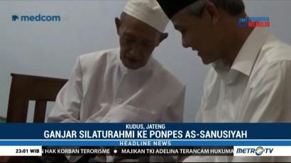 Ganjar Pranowo Silaturahmi ke Ponpes As-Sanusiyah Jekulo Kudus
