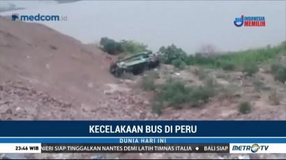 Kecelakaan Bus di Peru Tewaskan 25 Orang