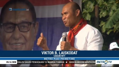 Viktor Laiskodat Bertekad Tingkatkan Kualitas Pendidikan di NTT