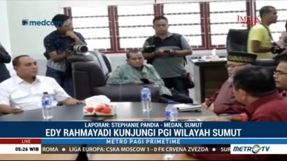 Edy Rahmayadi Berkunjung ke PGI Sumut