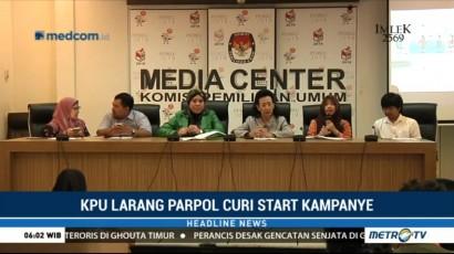 KPU Ingatkan Parpol Tak Mencuri Start Kampanye