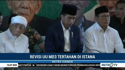 Revisi UU MD3 Tertahan di Istana