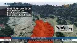 Evakuasi Korban Longsor Brebes Terkendala Cuaca Buruk