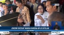 Jokowi Dicegat Pasien BPJS di RS Hasan Sadikin Bandung