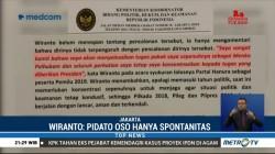 Dideklarasikan Jadi Cawapres Jokowi, Wiranto: Spontanitas OSO