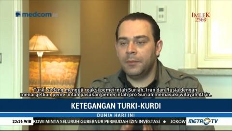 Ketegangan Turki dan Kurdi Diprediksi Tak Berlangsung Lama