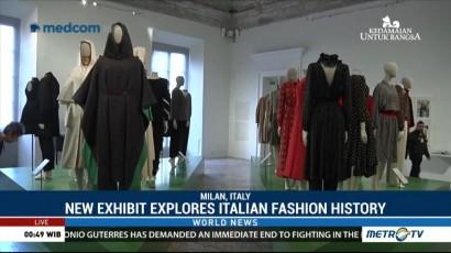 New Exhibit Explores Italian Fashion History