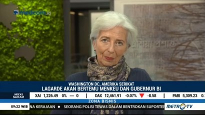 Direktur IMF Christine Lagarde akan Berkunjung ke Indonesia