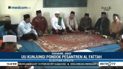Uu Kunjungi Ponpes Al-Fatah, TB Hasanuddin Sambangi Persis