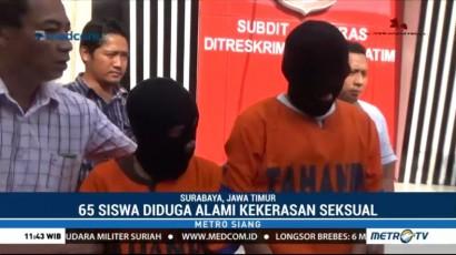 Oknum Guru SD di Surabaya Lecehkan 65 Siswanya