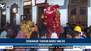 PT KCI Hadirkan Kemeriahan Imlek di Stasiun Bogor