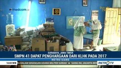 SMPN 41 Surabaya Terapkan Program <i>Zero Waste</i>