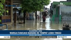 Luapan Air Bengawan Solo Rendam Ratusan Rumah Warga