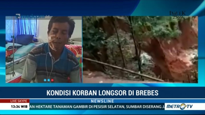 Korban Luka Longsor Brebes Ceritakan Detik-detik saat Menyelamatkan Diri