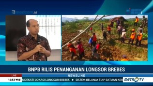BNPB: Bencana Longsor Penuh Ketidakpastian