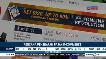 Pajak e-Commerce Diprediksi Sebesar 0,5%