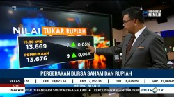 IHSG & Rupiah Menguat Jelang Akhir Pekan