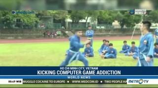 Kicking Computer Game Addiction with Vietnam's Martial Art