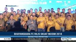 Bhayangkara FC Rilis Skuat Musim 2018
