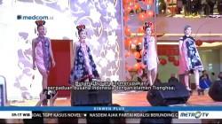 Pagelaran Busana Modern dengan Sentuhan Budaya Tionghoa