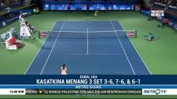 Tumbangkan Muguruza, Kasatkina Ditantang Svitolina di Final WTA Dubai