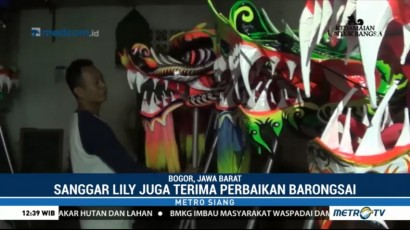 Pengrajin Barongsai di Bogor Kebanjiran Order