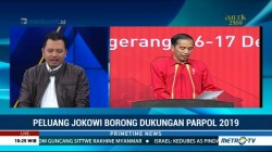 PDIP Dukung Jokowi, Peluang Ada Tiga Poros di Pilpres 2019 Mengecil