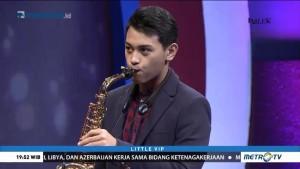Pemain Saksofon Kasyfi Kalyasyena Miliki Segudang Talenta