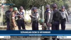 Ledakan Bom di Myanmar Lukai Polisi