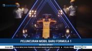 Tampilan Mobil Andalan McLaren untuk F1 2018