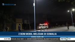 Dua Bom Mobil Guncang Ibu Kota Somalia