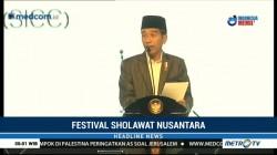 Jokowi Buka Festival Sholawat Nusantara