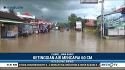 Dua Akses Jalan Nasional di Pangandaran Terputus akibat Banjir
