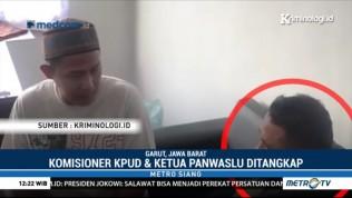 Komisioner KPUD & Ketua Panwaslu Garut Diduga Terima Suap