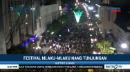 Kemeriahan Festival Mlaku-Mlaku Nang Tunjungan di Surabaya
