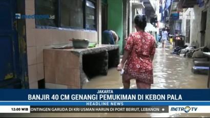 Kebon Pala Terendam Banjir