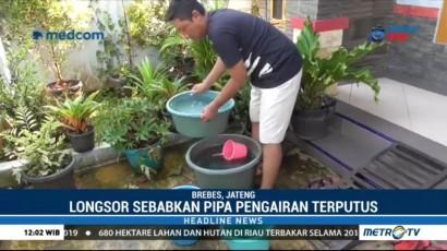 Pascalongsor, Warga Brebes Alami Krisis Air Bersih