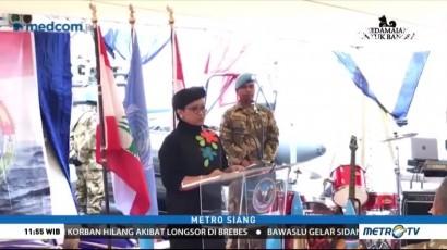 Menlu Kunjungi Pasukan Perdamaian RI di Lebanon