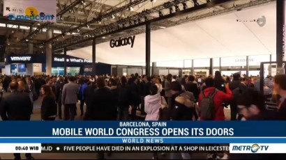 Mobile World Congress Opens Its Doors