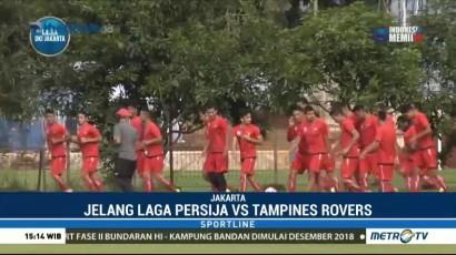 Persija Siap Raih Tiga Poin dari Tampines Rovers
