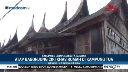 Eksotisme Perkampungan Tua Minangkabau