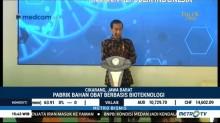 Jokowi Resmikan Pembangunan Pabrik Bahan Baku Obat di Bekasi