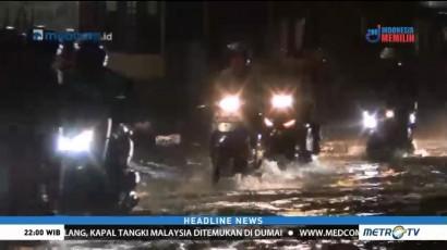 Jalan Kemang Utara Terendam Banjir