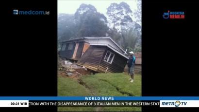 Quake Causes Damage in Papua New Guinea
