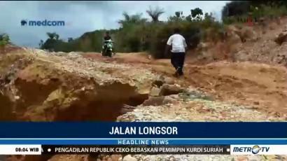 Longsor di Aceh Singkil Tutup Jalan Antar Provinsi