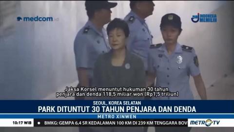 Mantan Presiden Korsel Dituntut 30 Tahun Penjara