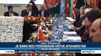 Wapres JK Hadiri Pembukaan Kabul Process Conference